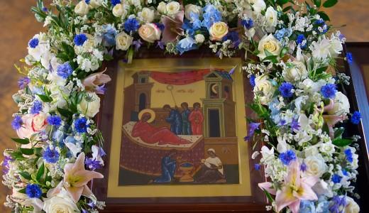 (ФОТО) Рождество Пресвятой Владычицы нашей Богородицы и Приснодевы Марии