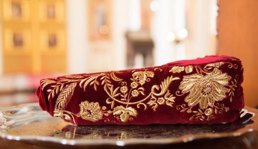 (ФОТО) Тапочек святителя Спиридона Тримифунтского